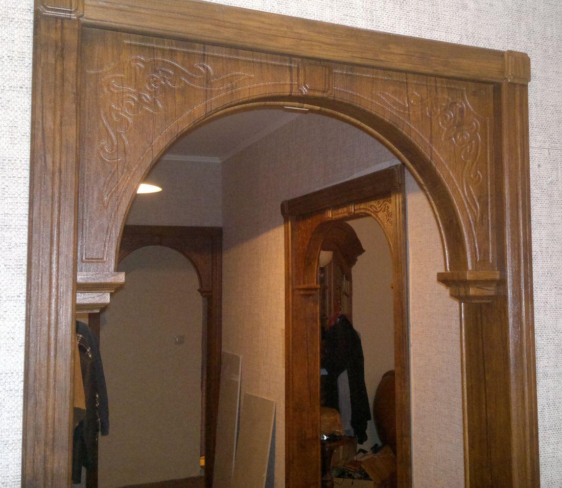 Как сделать арку в дверном проеме своими руками 48