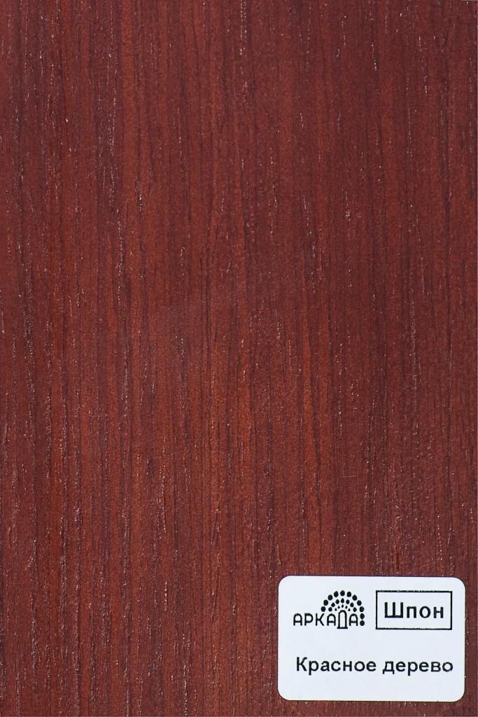 Шпон Красное дерево