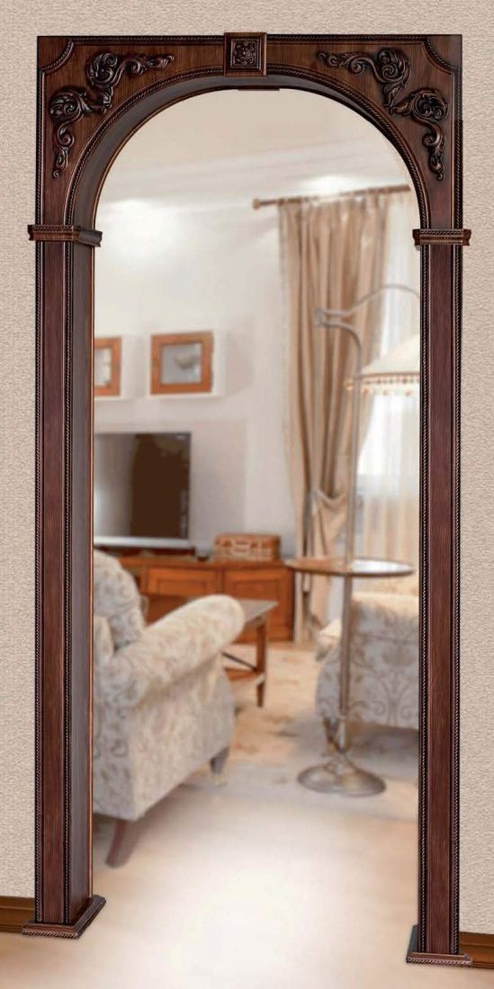 Квадратная арка из гипсокартона фото фото